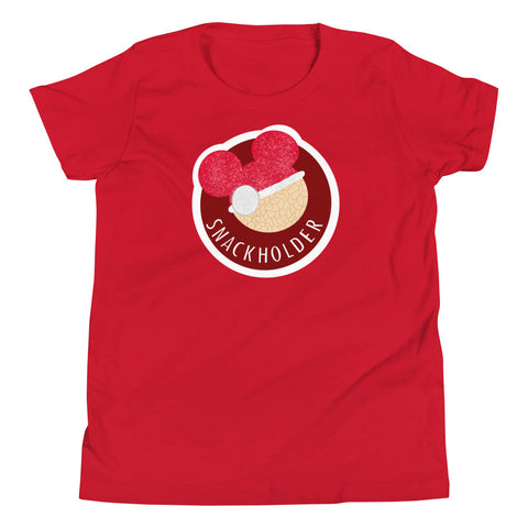Snack Holder - Santa Krispie - Youth Tee