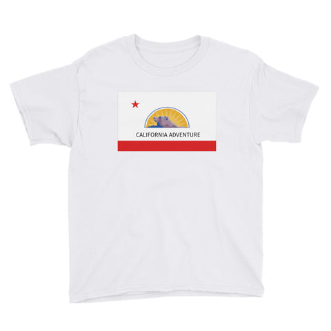 California Adventure Flag - Youth Tee
