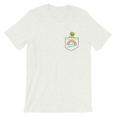 Rainbow Connection - Faux Pocket Tee (Unisex)