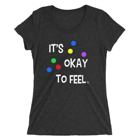It's Okay to Feel - Women's Scoop Neck