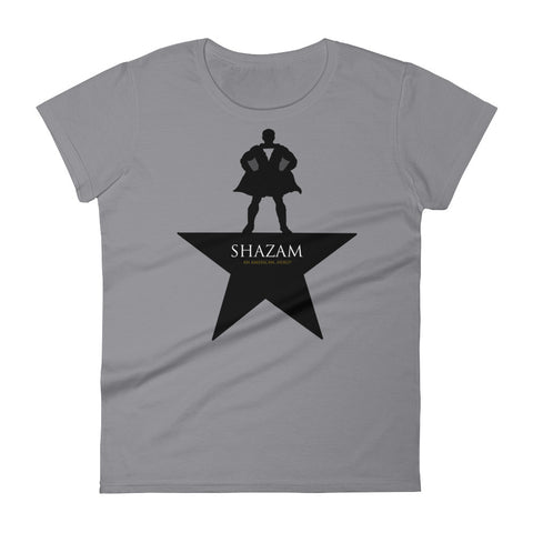 Shazam-ilton - Women's Scoop Neck