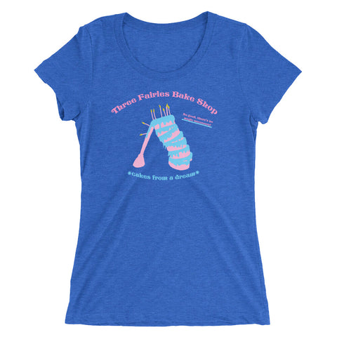 Three Fairies Bake Shop - Women's Scoop Neck