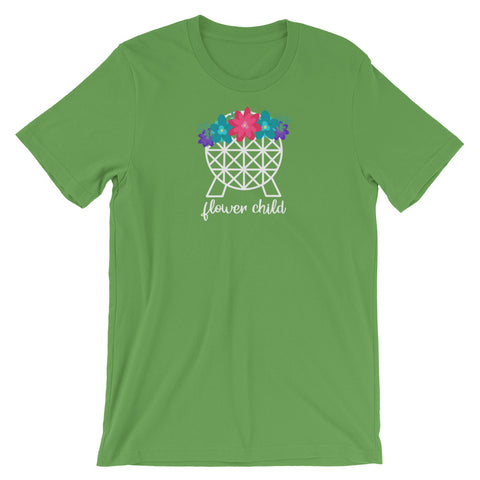 Flower Child Spaceship Earth (Type 1) - Classic Tee (Unisex)
