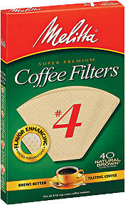 Melitta Cone Filters: Natural Brown - McNulty's Tea & Coffee Co., Inc. - 3