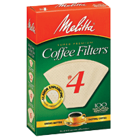 Melitta Cone Filters: Natural Brown - McNulty's Tea & Coffee Co., Inc. - 6