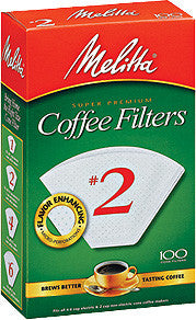 Melitta Cone Filters: White - McNulty's Tea & Coffee Co., Inc. - 1