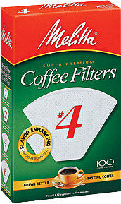 Melitta Cone Filters: White - McNulty's Tea & Coffee Co., Inc. - 3