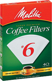 Melitta Cone Filters: White - McNulty's Tea & Coffee Co., Inc.