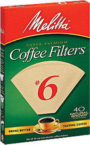 Melitta Cone Filters: Natural Brown - McNulty's Tea & Coffee Co., Inc. - 4
