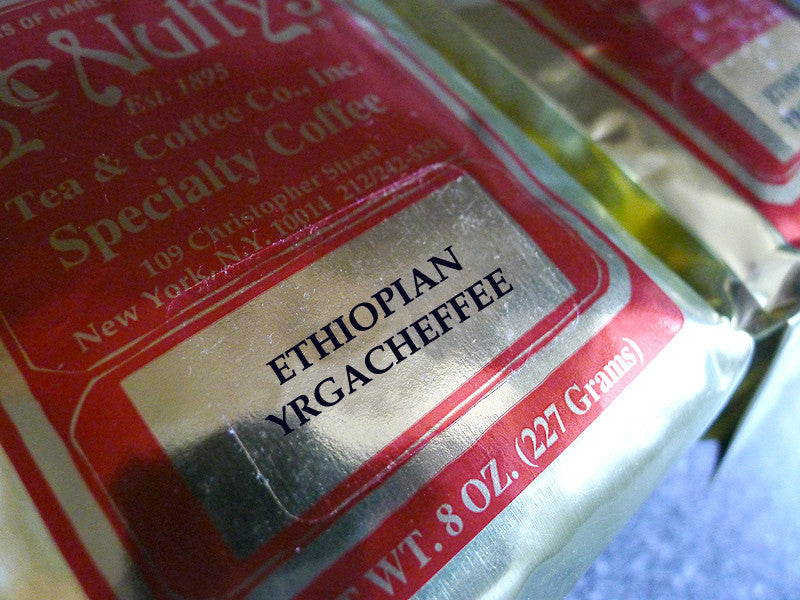 Select: Ethiopian Yrgacheffe - McNulty's Tea & Coffee Co., Inc.