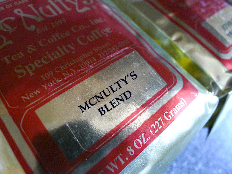 Select: McNulty's Blend - McNulty's Tea & Coffee Co., Inc.