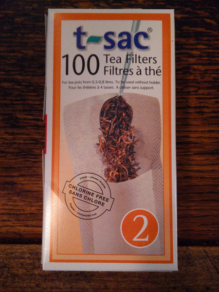 T-Sac Tea Filters - McNulty's Tea & Coffee Co., Inc.