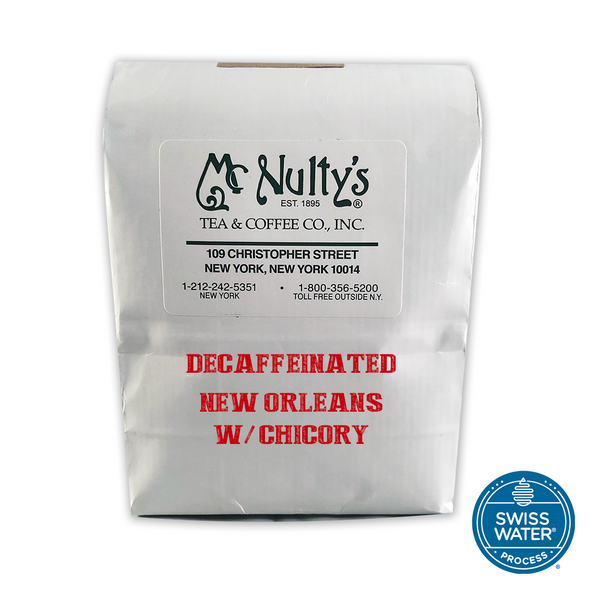 Coffee: Decaffeinated New Orleans with Chicory