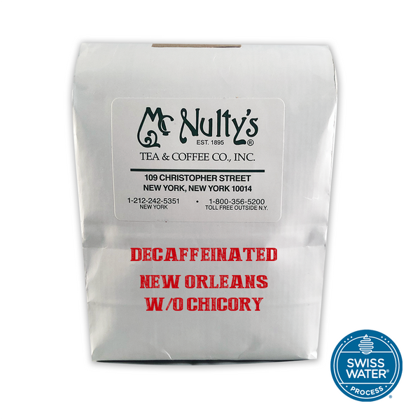 Coffee: Decaffeinated New Orleans without Chicory