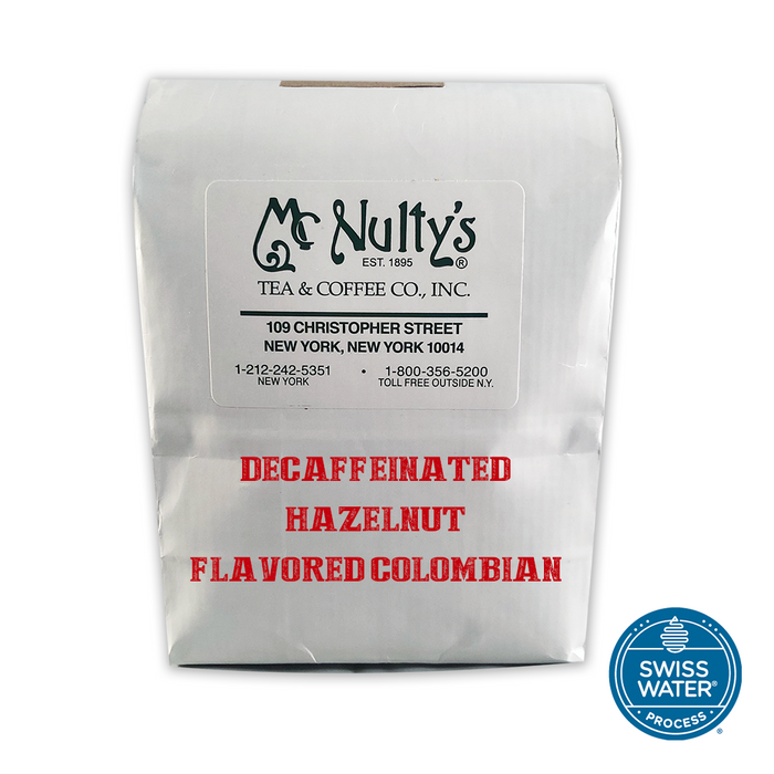 Flavored Coffee: Decaffeinated Hazelnut