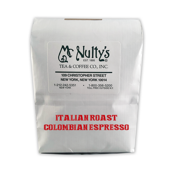 Coffee: Italian Roast Colombian Espresso