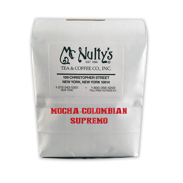 Coffee: Mocha-Colombian Supremo