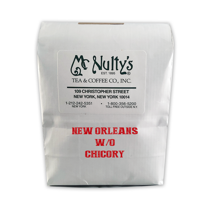 Coffee: New Orleans without Chicory