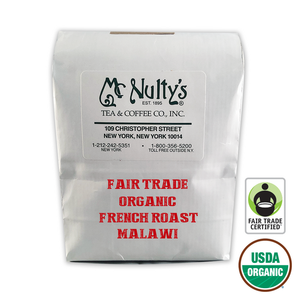 Organic Coffee: French Roast Malawi