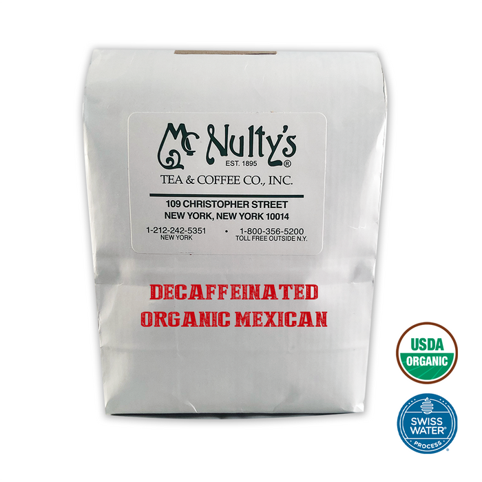 Organic Coffee: Decaffeinated Mexican