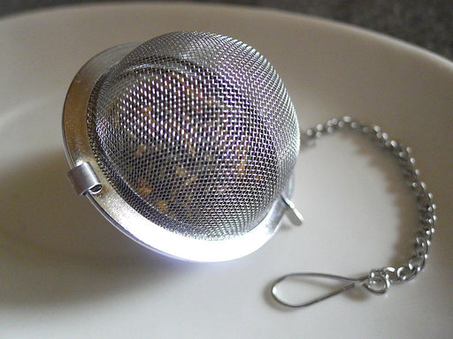 Mesh Tea Strainer Ball - McNulty's Tea & Coffee Co., Inc.
