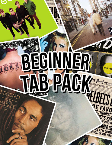 Beginner Tab Pack