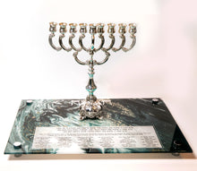 Load image into Gallery viewer, Chanukah Tray: Black and White