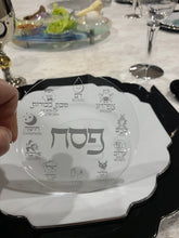 Load image into Gallery viewer, Acrylic SILVER Pesach Coasters