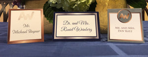 Table Tent Place Card