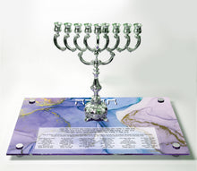 Load image into Gallery viewer, Chanukah Tray: Purple/Gold