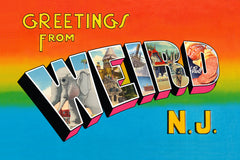 Greetings From Weird N.J. Flexi-Mag