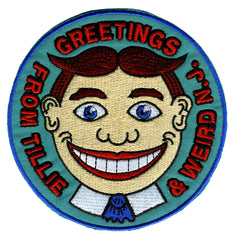 GREETINGS FROM TILLIE & WEIRD N.J.! Embroidered Patch