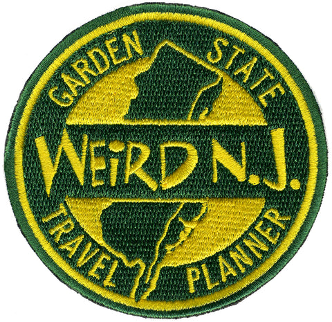 Weird NJ Travel Planner Embroidered Patch