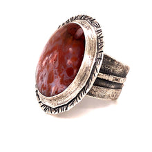 Load image into Gallery viewer, Confetti Agate Ring