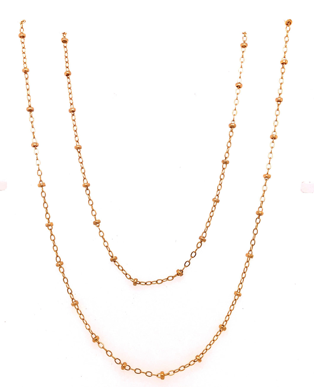 Double Strand Gold Choker