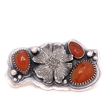 Load image into Gallery viewer, Carnelian Heroin(e) Ring