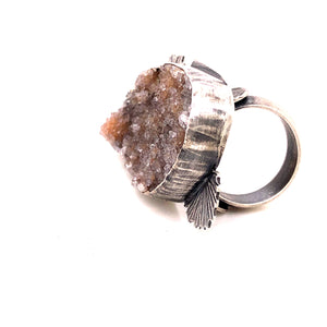 Druzy Flair Ring