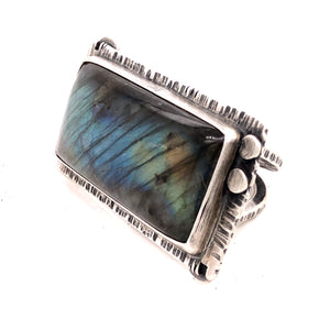 Big Hunk o' Labradorite Ring