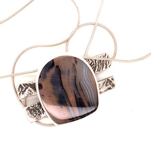 Load image into Gallery viewer, Montana Moss Agate Necklace