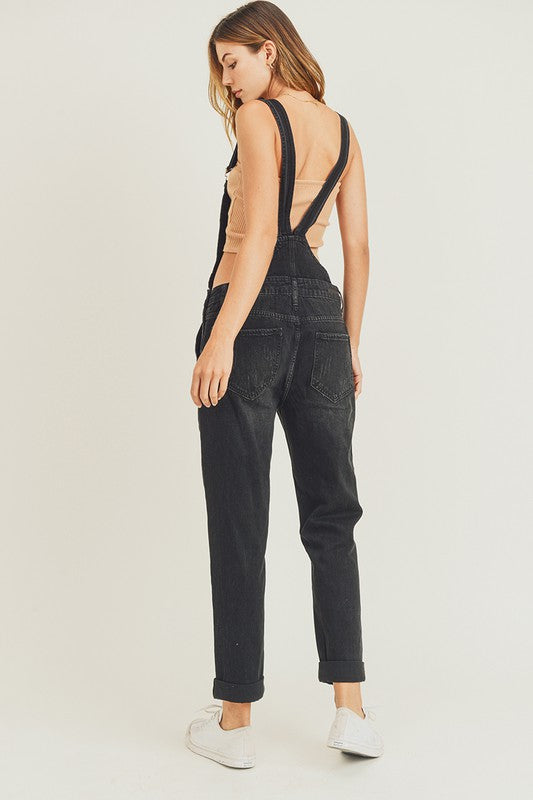 Relaxed Fit Overall Jeans