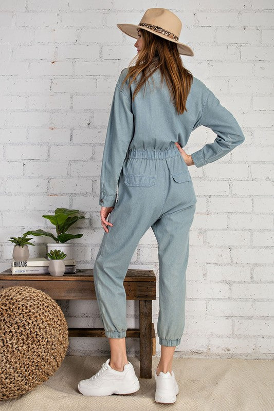 Melody Denim Jumpsuit