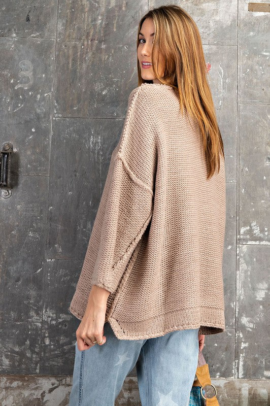 Chunky Oversized Knit Sweater