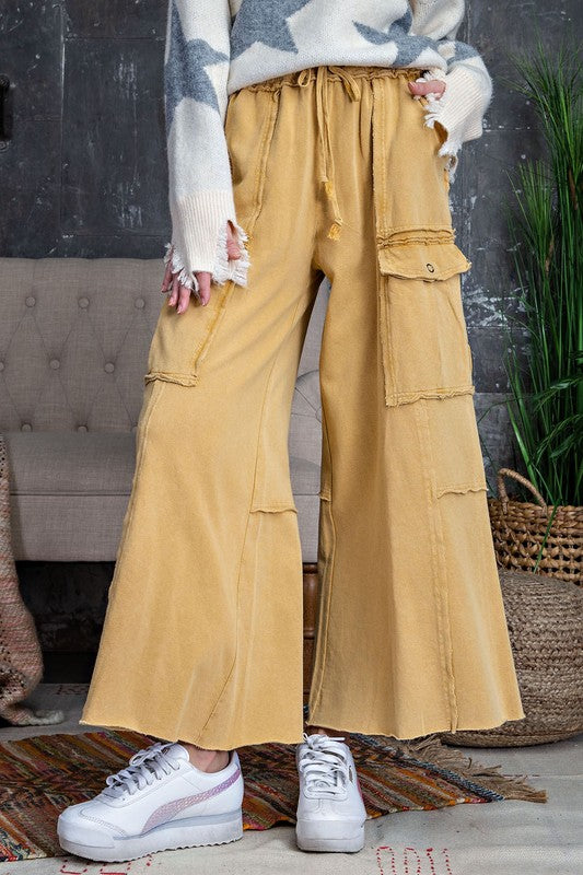 Feeling Good Utility Wide Leg sweats