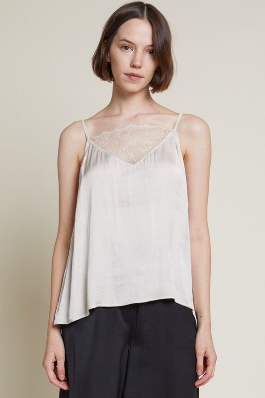 Gilda Lace Front Tank