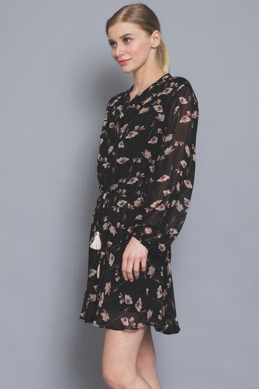 Charlotte Long Sleeve Dress