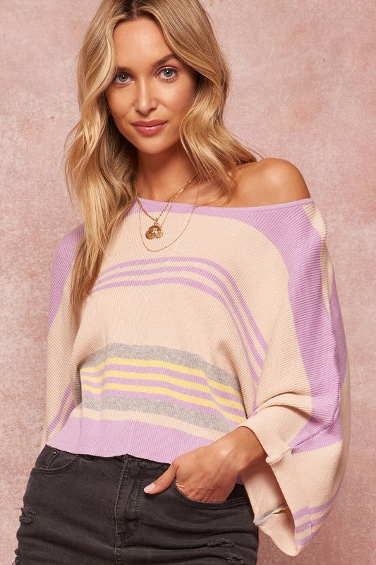 Thin Dolman Sweater