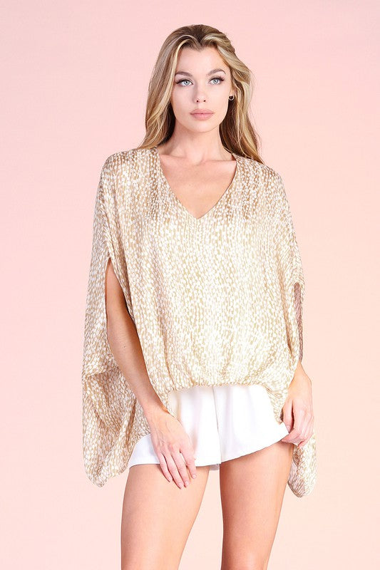 Spring Dew Caftan Top