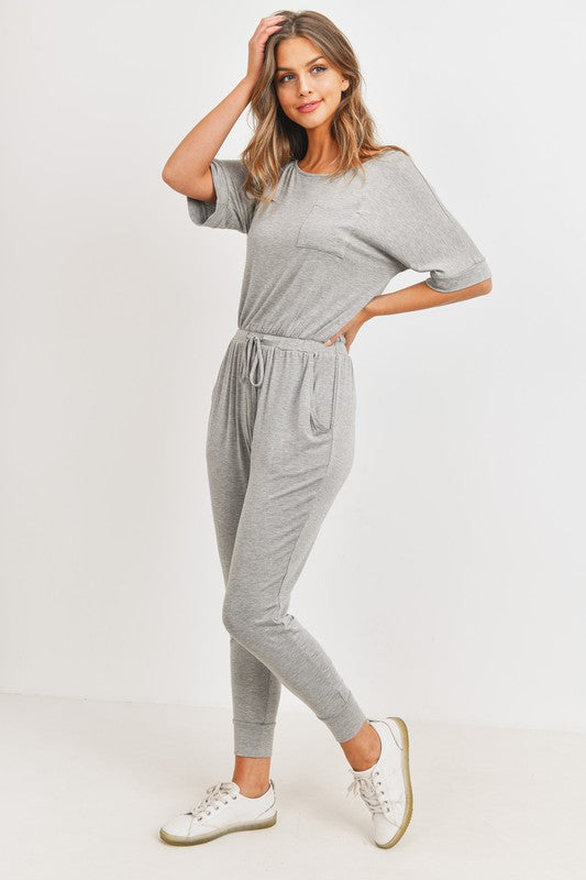 Knit Jersey Jumpsuit