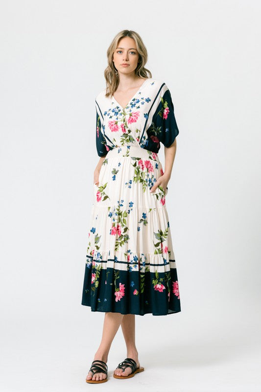 Jillian Floral Dress