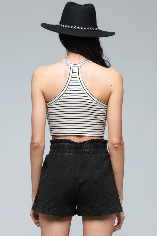 Striped Racerback Top